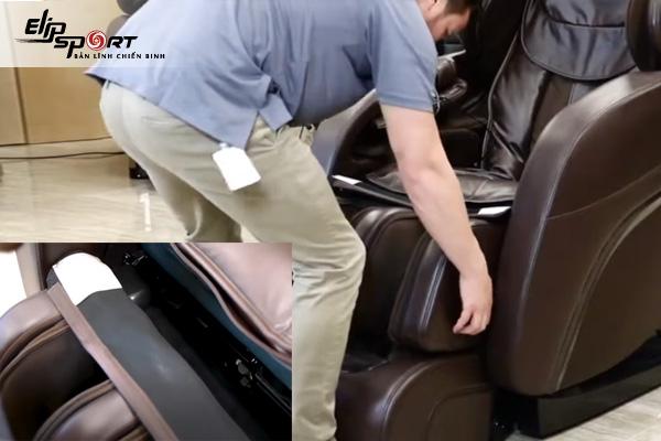 Hướng dẫn tháo lắp ghế mát xa