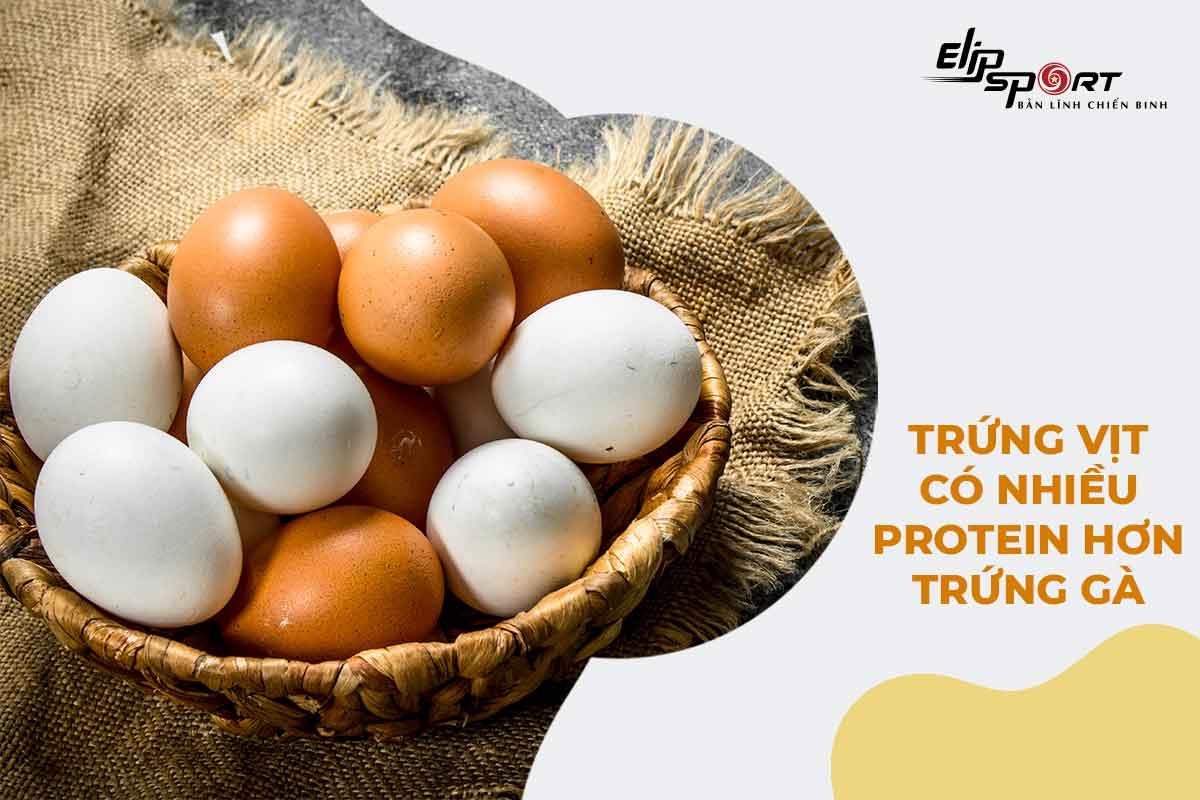 1 quả trứng gà bao nhiêu protein
