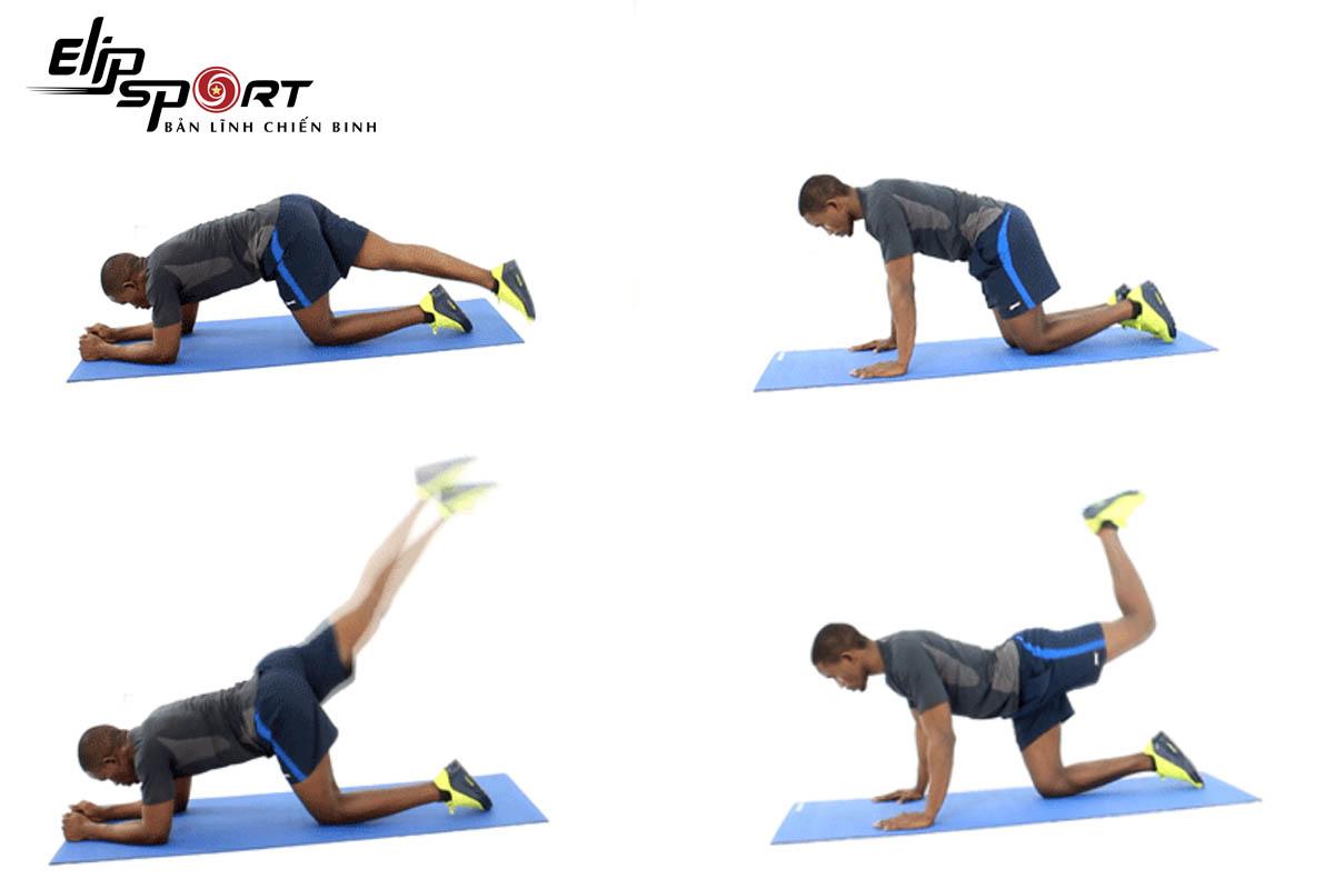các bài tập chân mông cho nam gym
