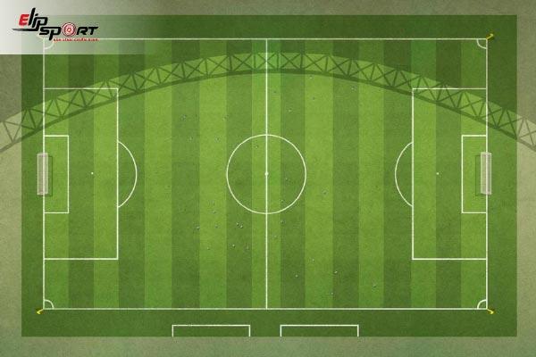 kích thước lưới bóng đá 7 người