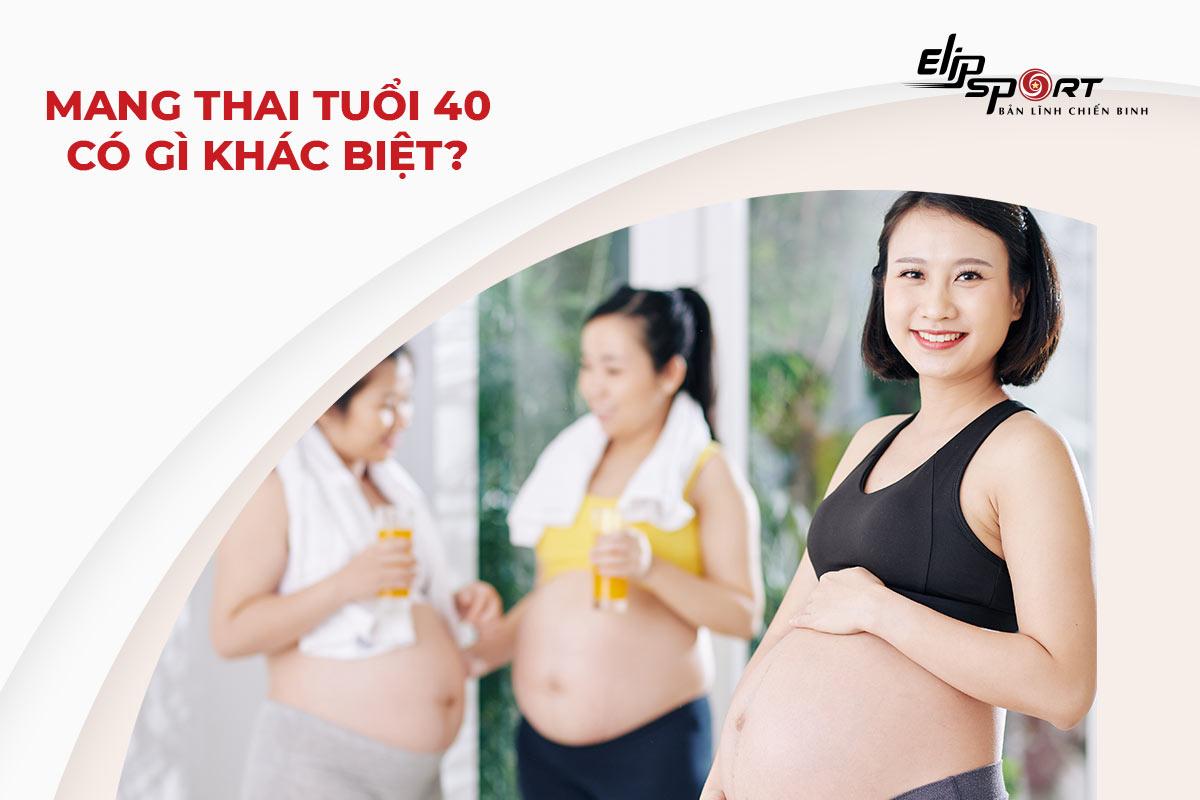 Chuẩn bị mang thai ở độ tuổi 40