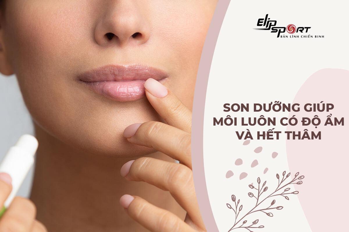 Son dưỡng trị thâm môi