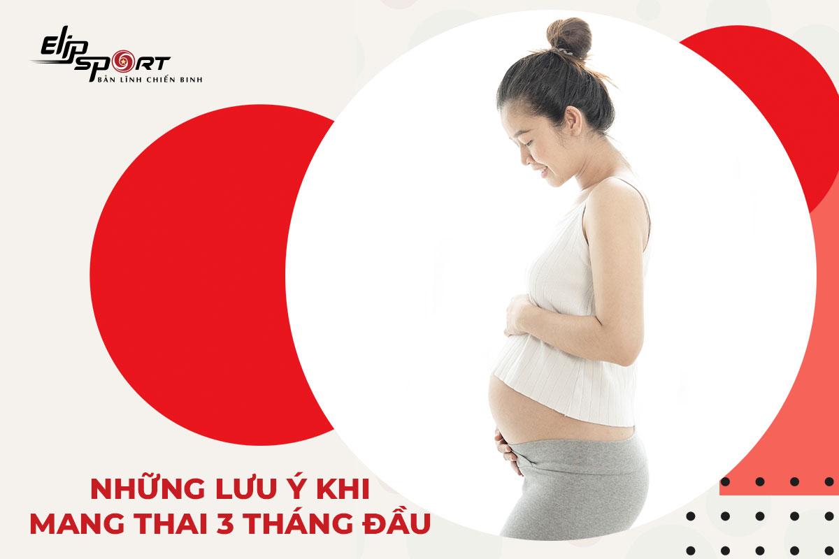 tập thể dục cho bà bầu 3 tháng đầu