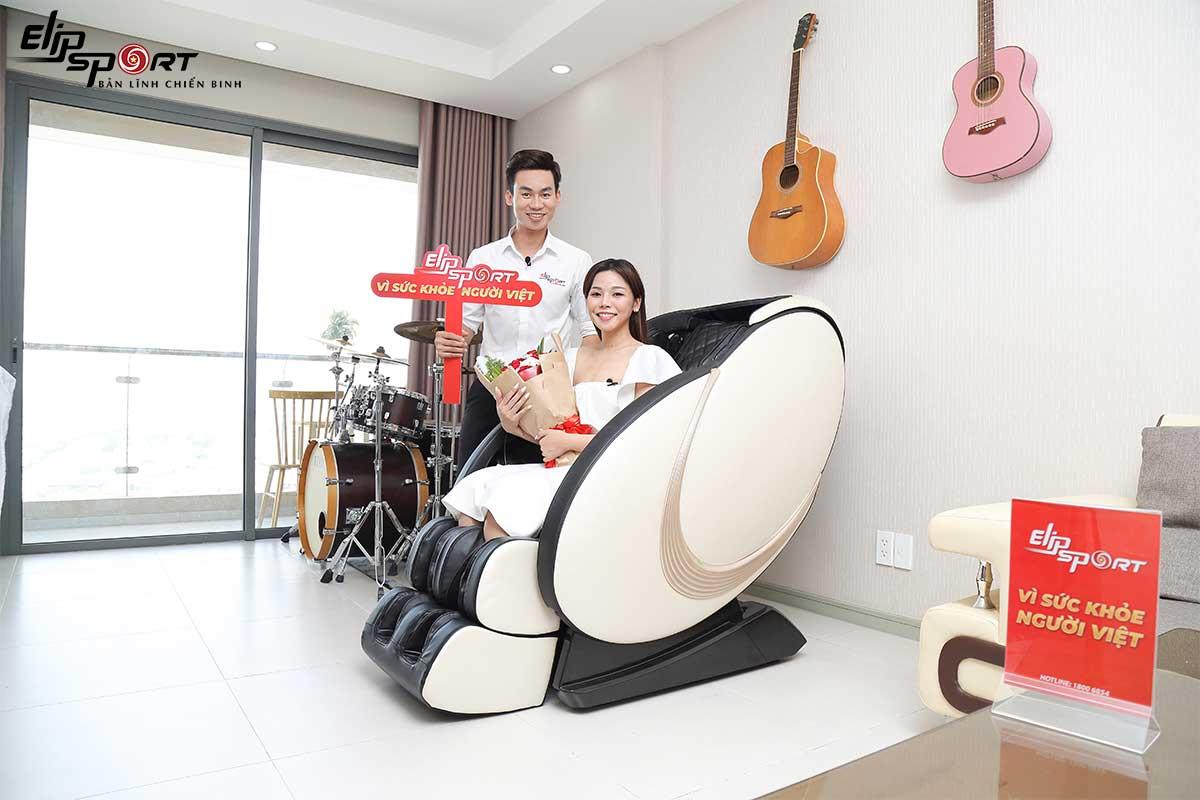 Lý do ca sĩ triệu view Trương Thảo Nhi cực mê ghế massage
