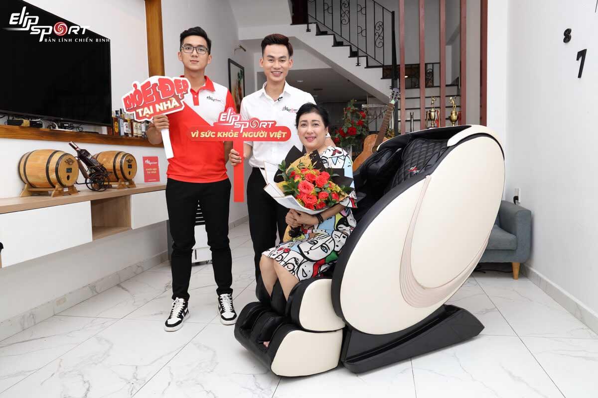 Nghệ sĩ Thanh Thuỷ thừa nhận trẻ, khoẻ ra nhờ phương pháp massage