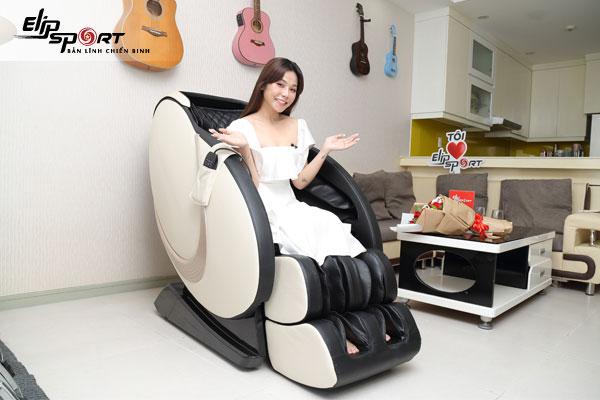 trương thảo nhi ghế massage