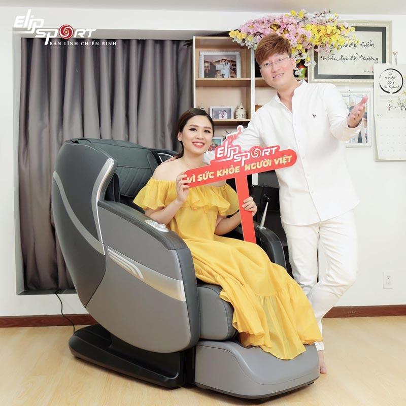 Sĩ Luân ghế massage