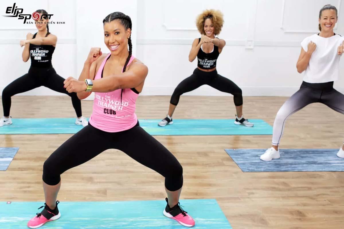 bài tập aerobic cho người mới bắt đầu