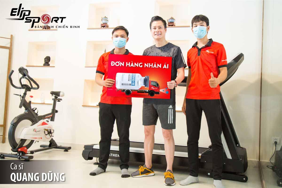 Ca sĩ Quang Dũng bật mí chuyện chăm sóc sức khoẻ bản thân