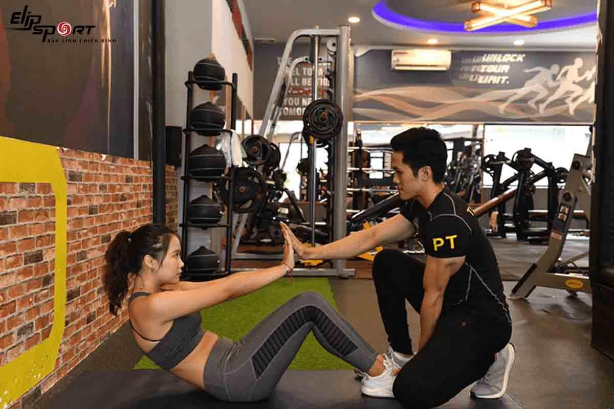 phòng tập gym Tân Phú
