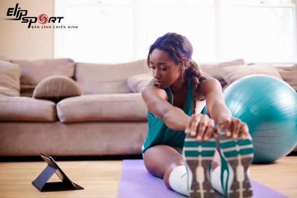 tập thể dục tại nhà đúng cách