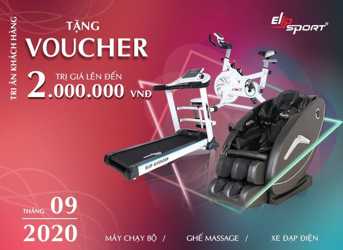 Bùng Nổ Khuyến Mãi Lớn, Tặng Ngay Voucher Tới 2 Triệu Đồng