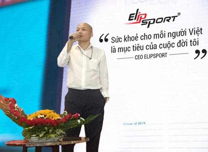 CEO Elipsport: Sức khoẻ của người Việt là mục tiêu của cuộc đời tôi