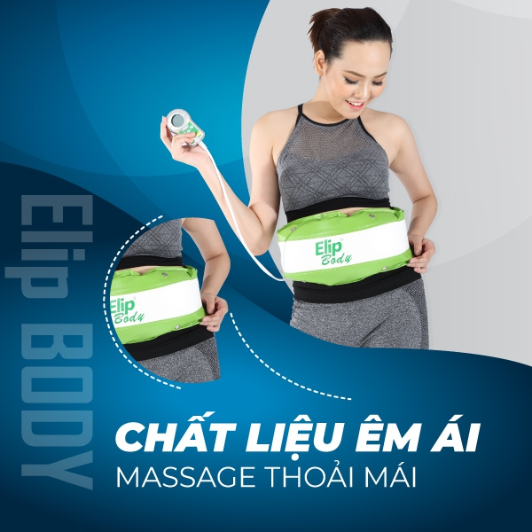 Ảnh sản phẩm Đai massage bụng Elip Body
