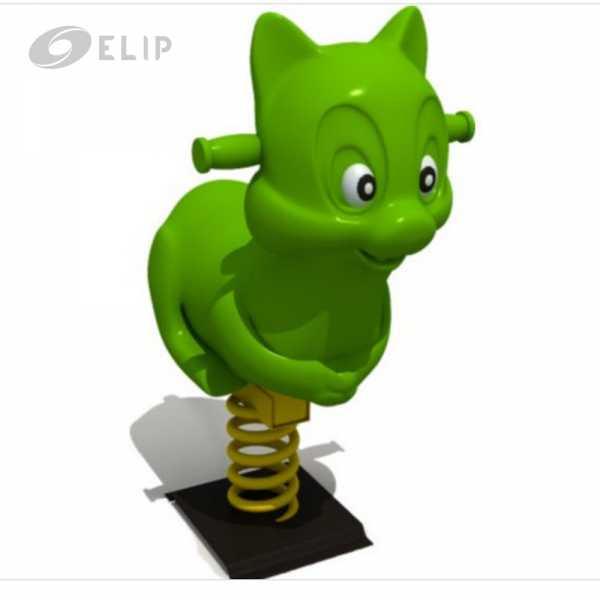Ảnh sản phẩm Thú Nhún Lò Xo Elip - Con Mèo