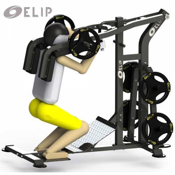 Ảnh sản phẩm Máy tập đa năng: Mông-Đùi Elip-Max-Squat-Pro