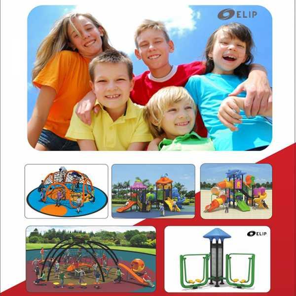 Ảnh sản phẩm Sân chơi công viên Elip Alinco