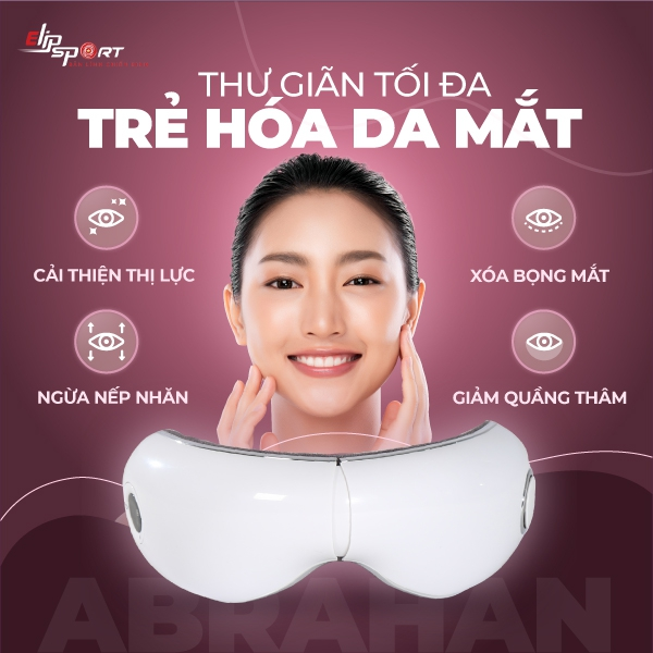 Ảnh sản phẩm Máy massage mắt Elip Abrahan