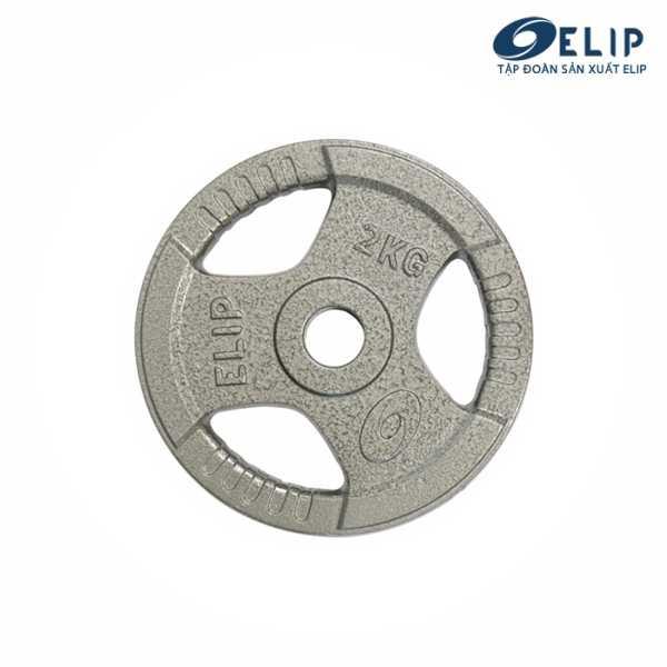 Ảnh sản phẩm Tạ Gang Elip Rubic Phi 50-2Kg
