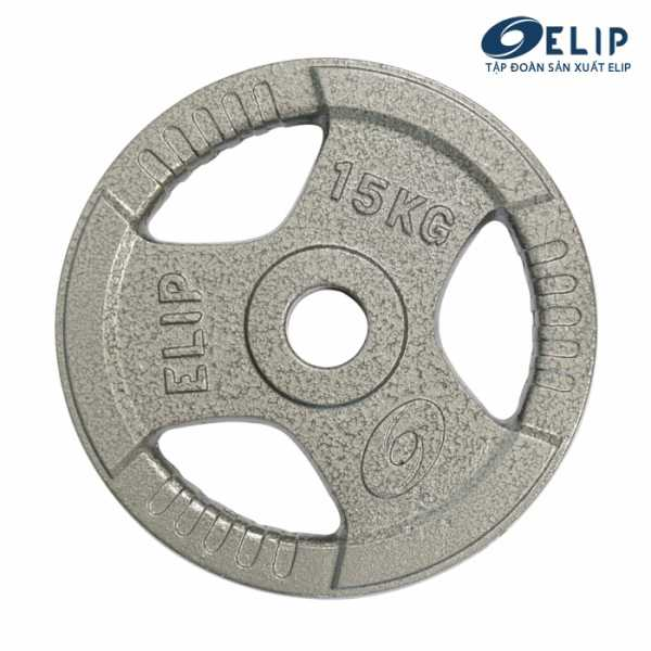 Ảnh sản phẩm Tạ Gang Elip Rubic Phi 50-15Kg