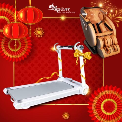 Tuần lễ vàng, tặng 1000 máy chạy bộ ELIP Rosa khi mua ghế massage