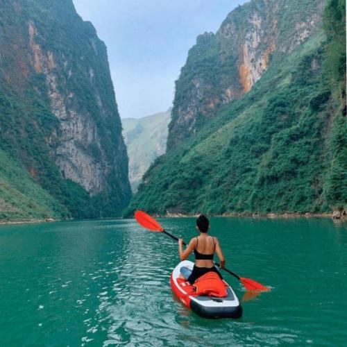 Hướng dẫn kỹ thuật chèo thuyền Kayak