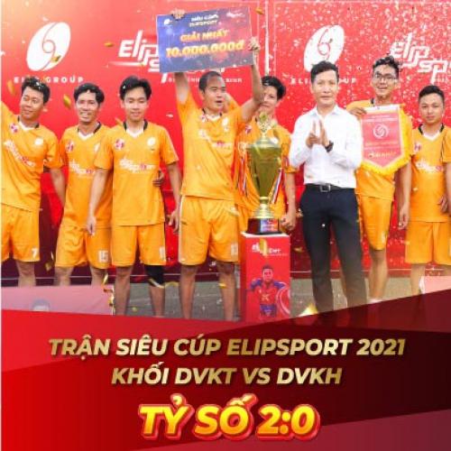 Elipspeed số 9 - DVKT Miền Trung vô địch tại giải Siêu Cúp Elipsport 2021