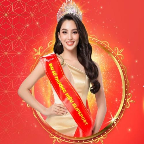 Elipsport công bố Hoa hậu Trần Tiểu Vy là đại sứ thương hiệu