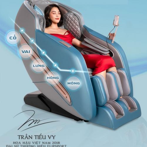 Thương hiệu ghế massage ELIP của nước nào?