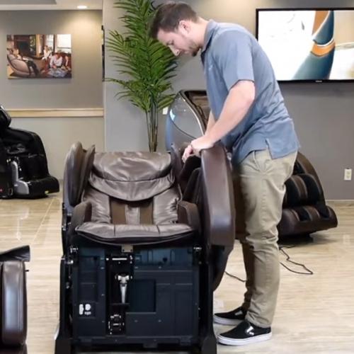 Hướng dẫn tháo lắp ghế mát xa dễ di chuyển lên lầu, cầu thang
