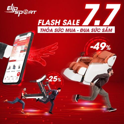 Flash Sale duy nhất 1 ngày 7.7: Thỏa sức mua - Đua mua sắm