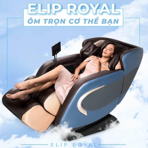 Đánh giá ghế mát xa ELIP Royal mới ra mắt tại Elipsport