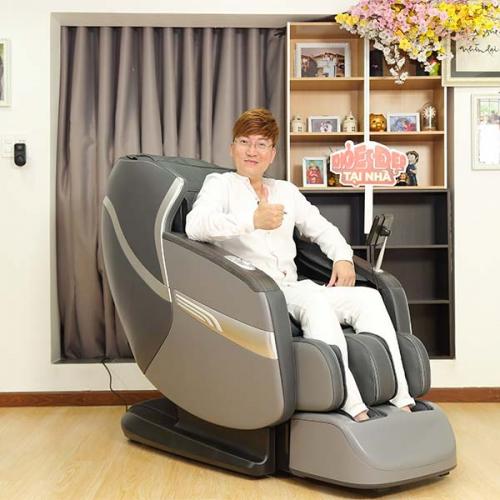Sỹ Luân tậu ghế massage vài chục triệu tặng vợ massage mỗi ngày