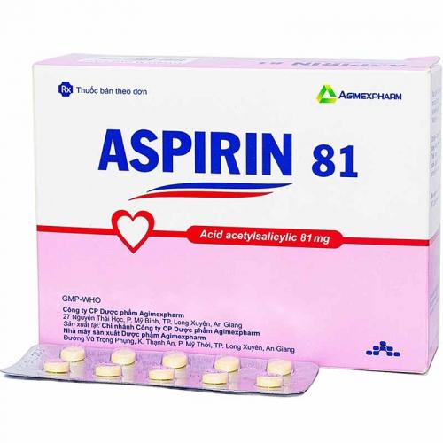 Uống Aspirin 81mg hàng ngày có tốt không và có hại không?
