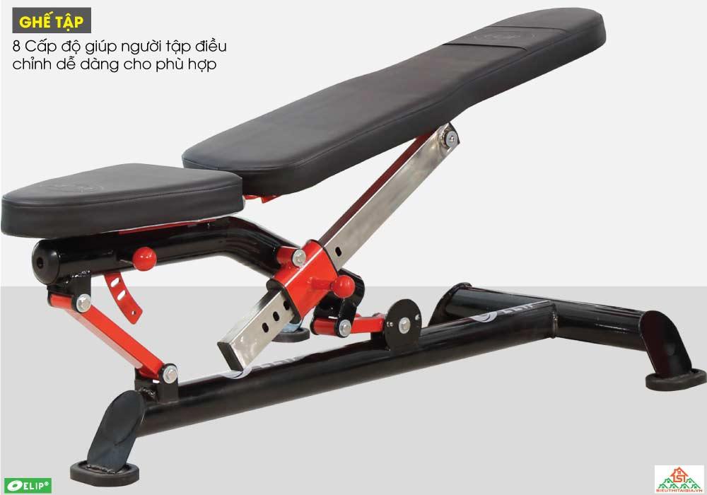 Máy tập tạ đa năng Elip Home Fitness 7in1