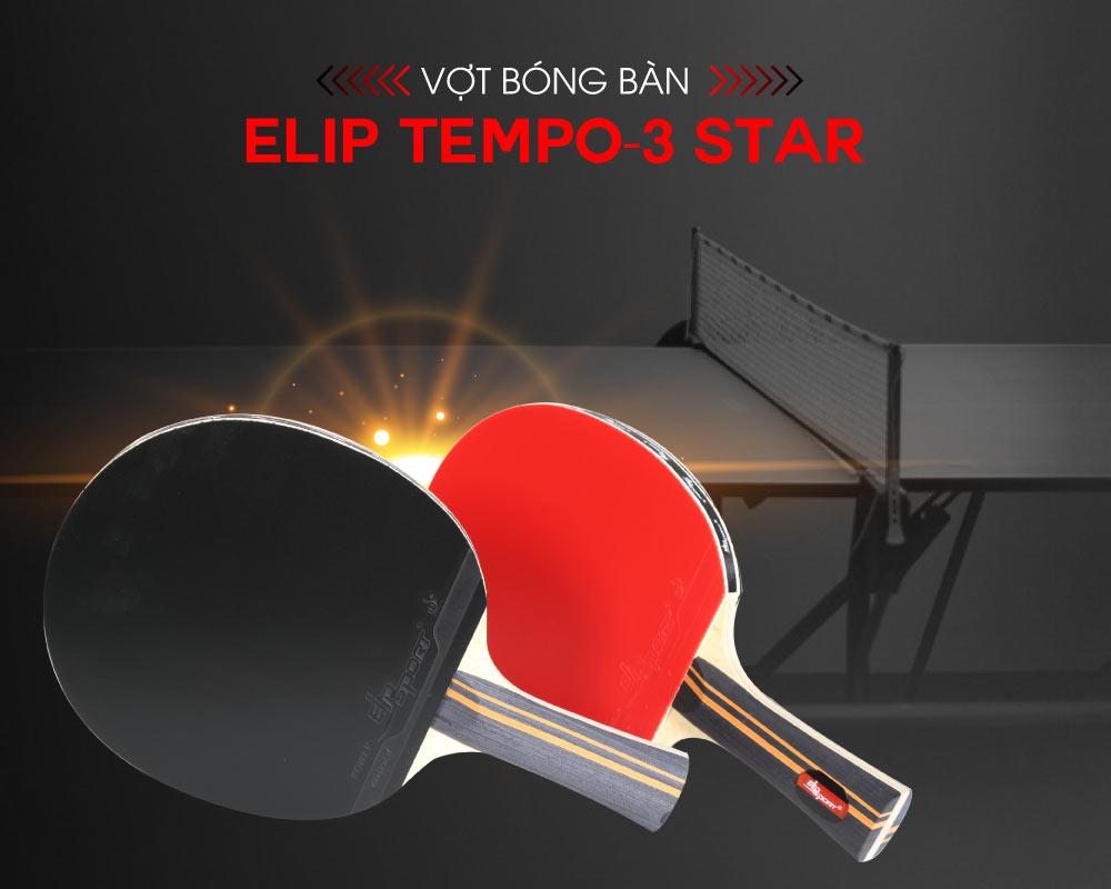 vợt bóng bàn elip tempo 3 star