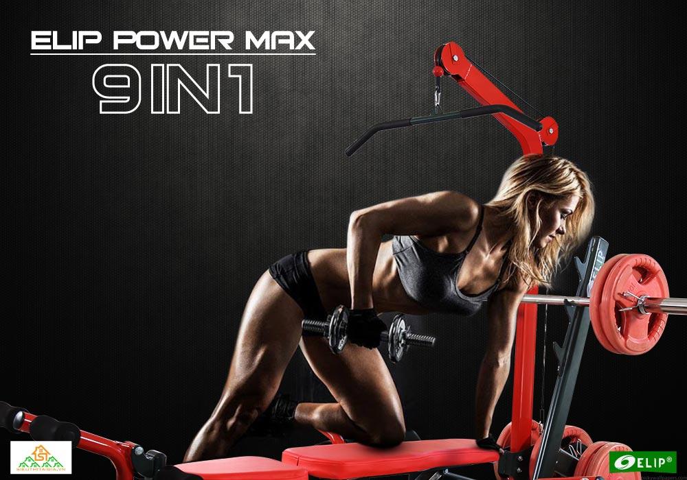 Ghế tạ đa năng Elip Power Max 9in1 - ảnh 1