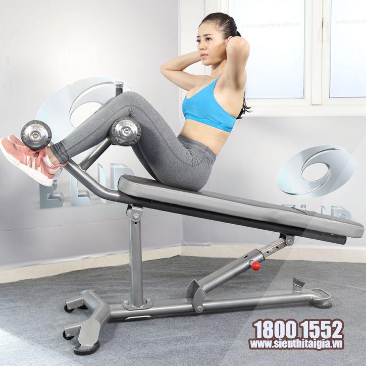 Ghế tập bụng điều chỉnh đa độ dốc Elip AC013 - ảnh 2