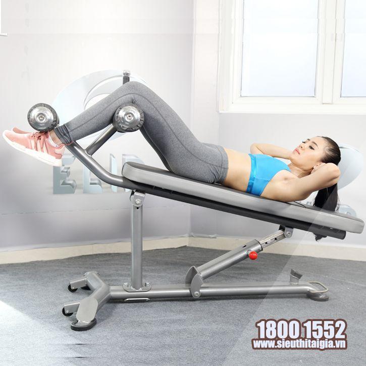Ghế tập bụng điều chỉnh đa độ dốc Elip AC013 - ảnh 3