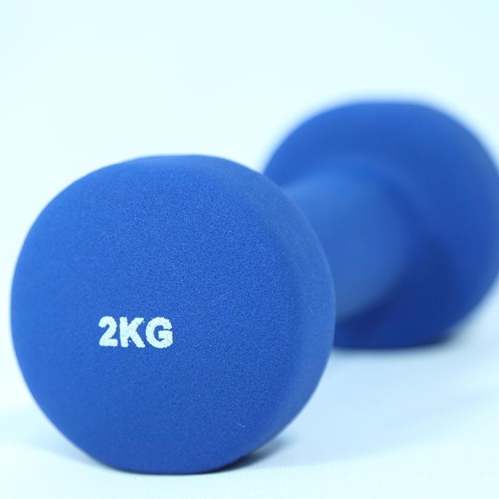 Tạ tay cao su Aerobic ELIP 2kg