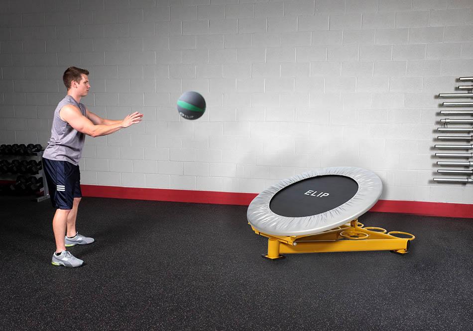 Kệ ném bóng phòng gym Elip - ảnh 1