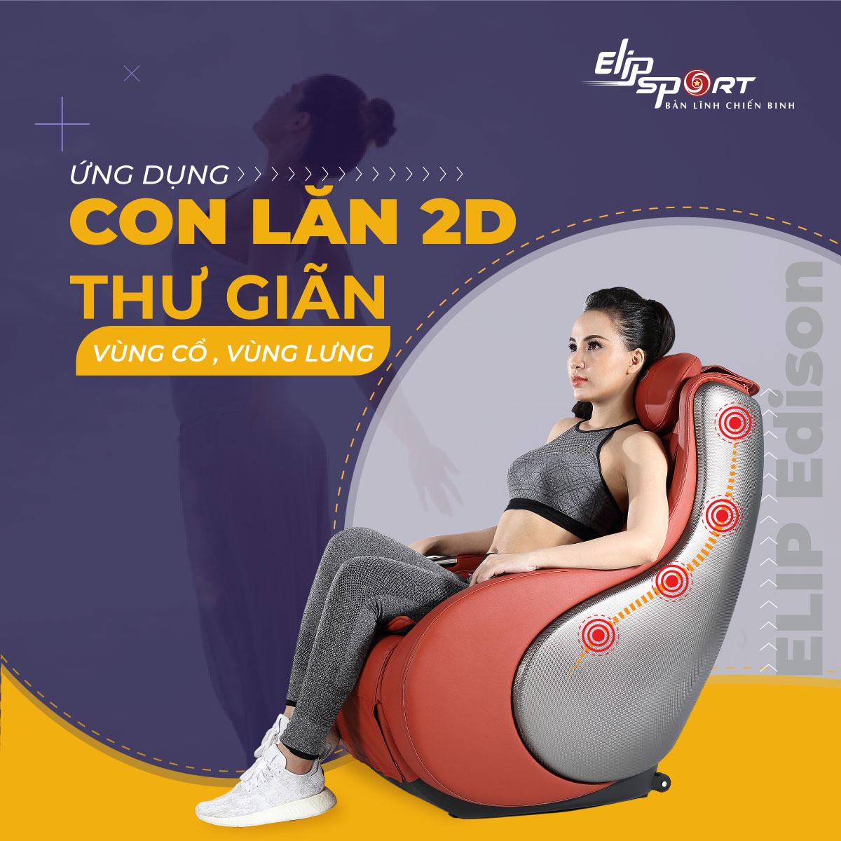 Ghế massage ELIP Edison