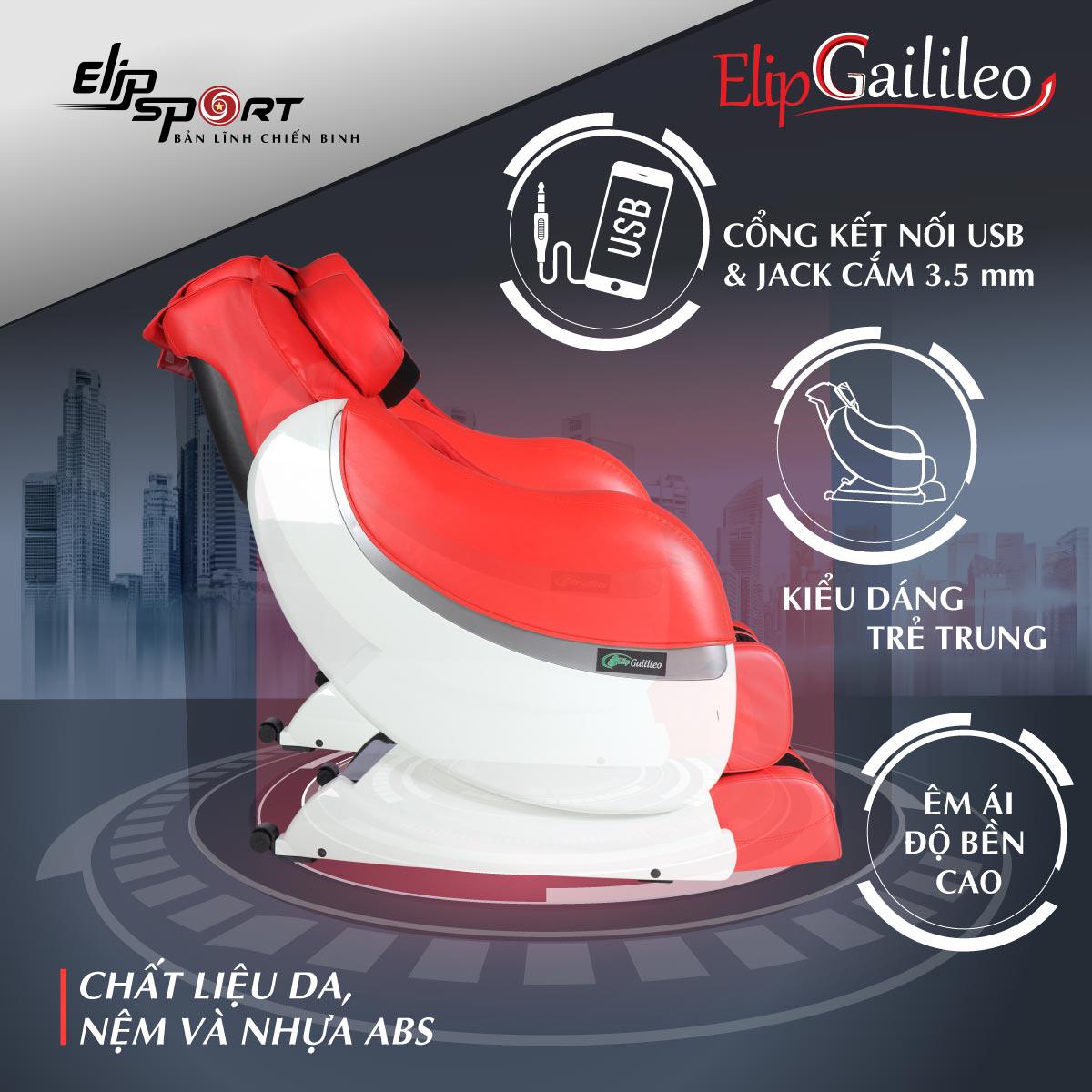 Ghế massage ELIP Gailileo