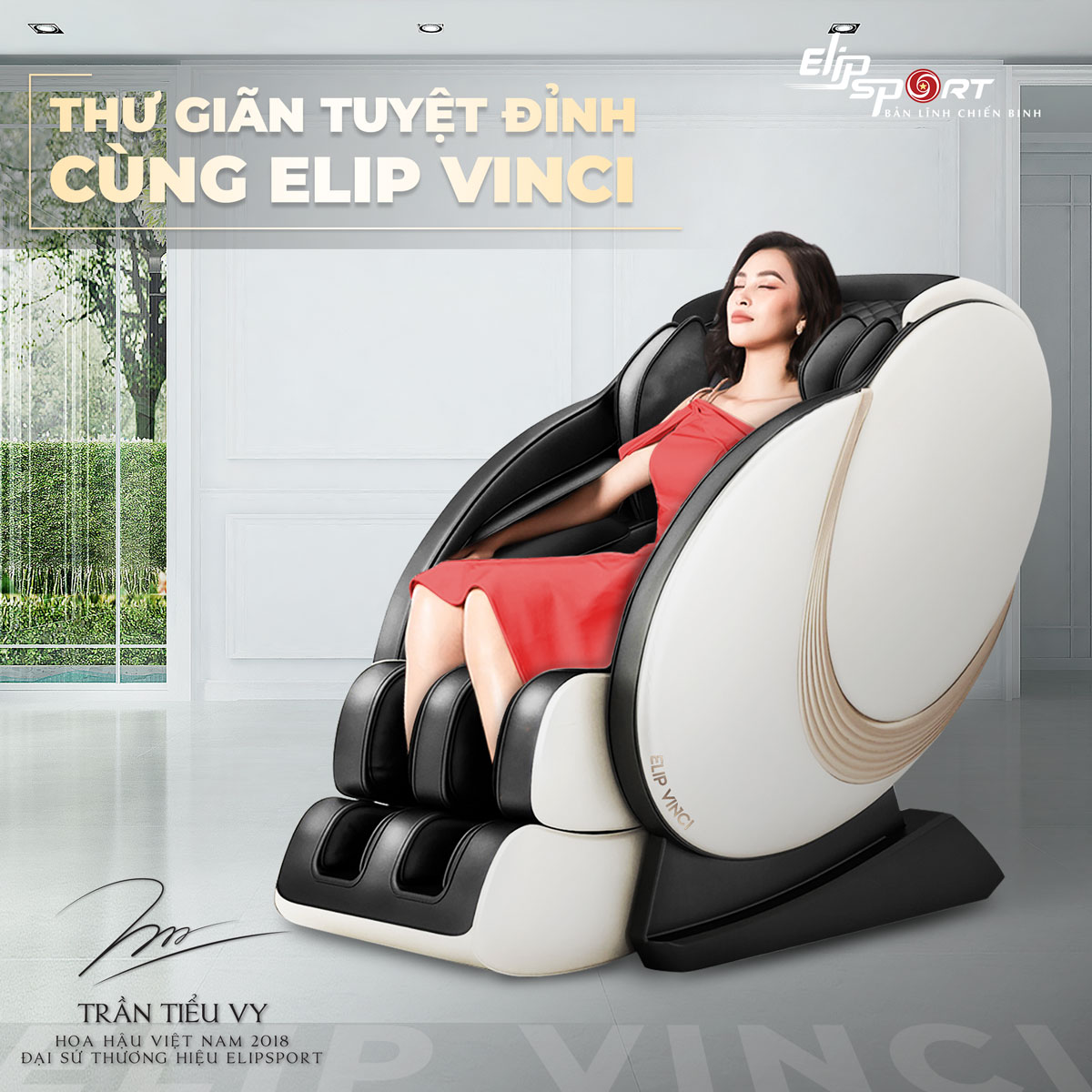 Ghế massage ELIP Vinci