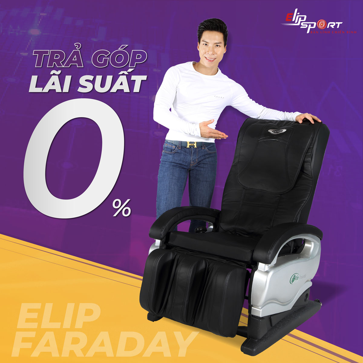 Ghế massage ELIP Faraday
