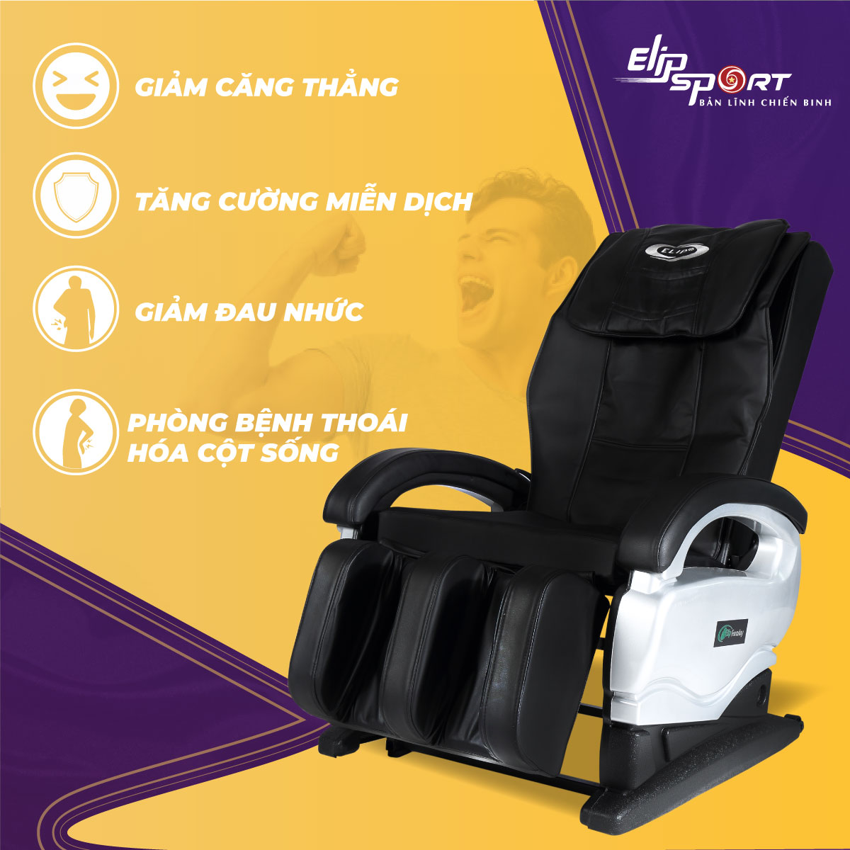 Ghế massage ELIP Faraday