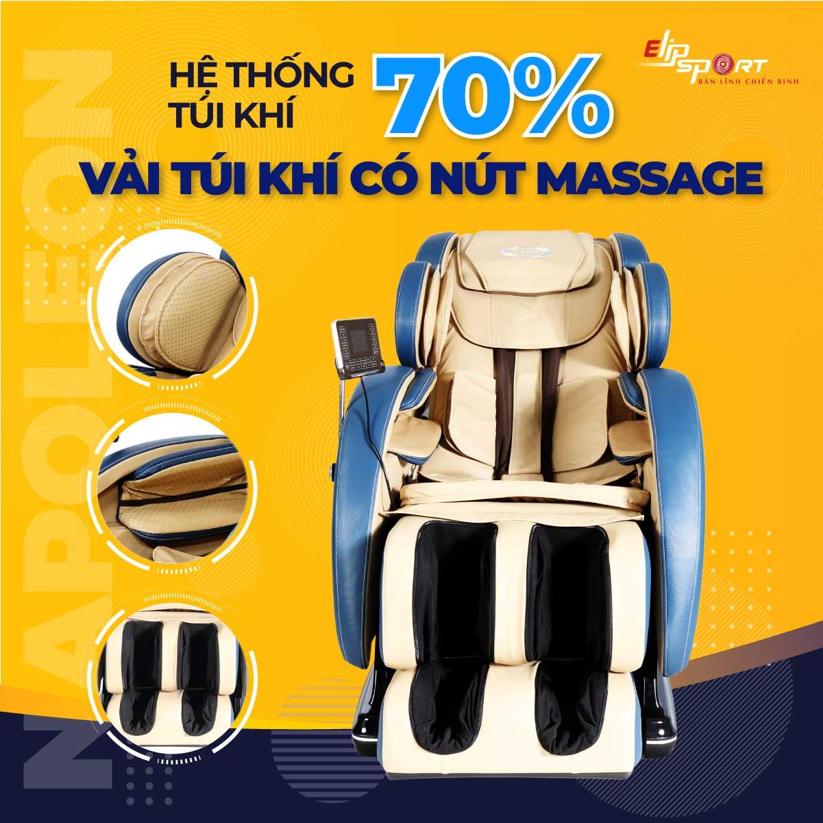 Ghế massage ELIP Napoleon