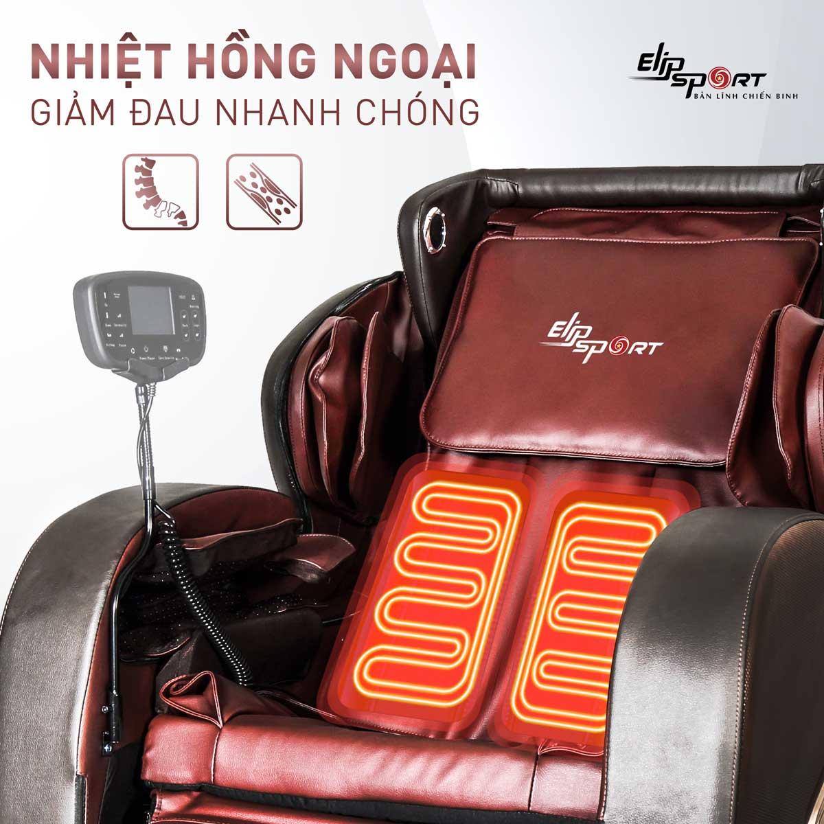 Ghế massage ELIP Platin