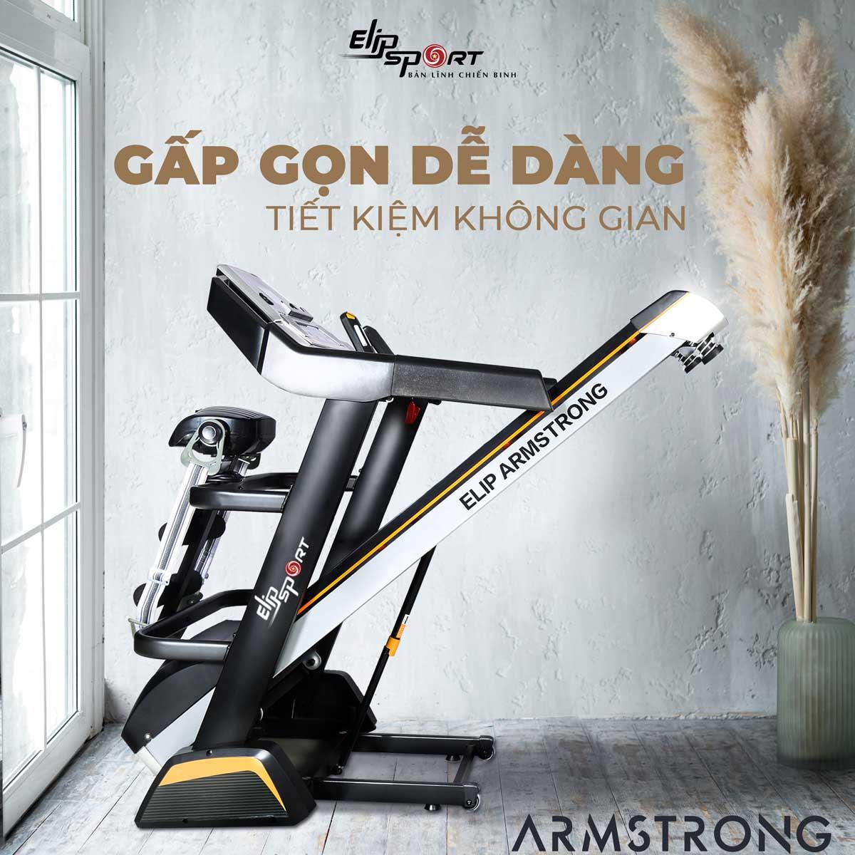 máy chạy bộ ELIP Armstrong