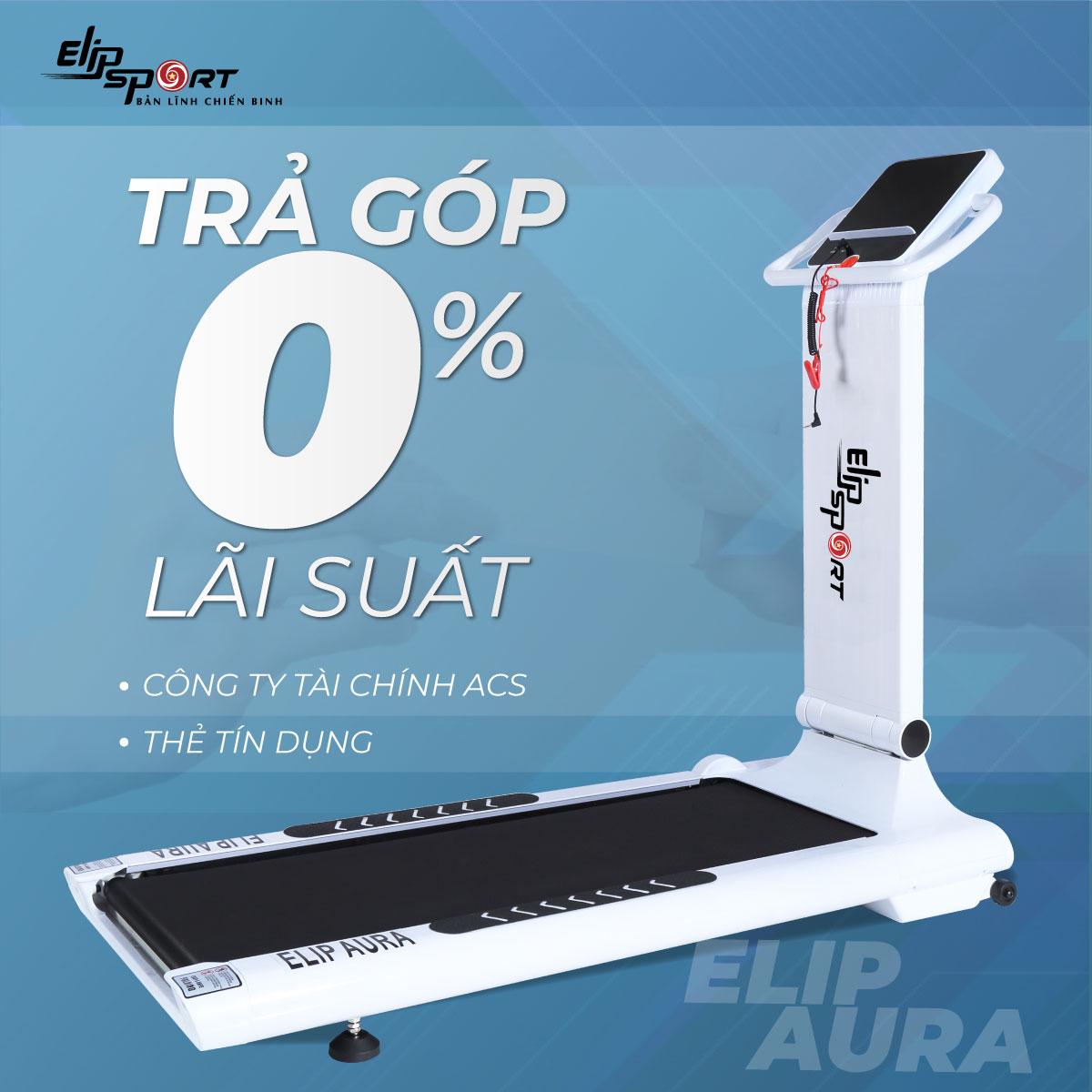 Máy chạy bộ điện đơn năng ELIP Aura